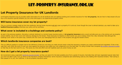 Preview of let-property-insurance.org.uk